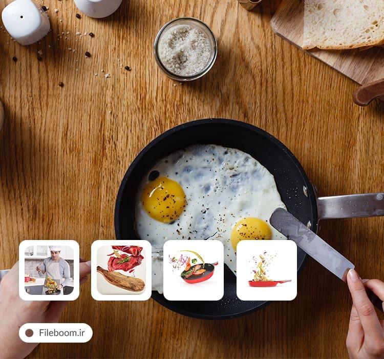 مجموعه تصاویر باکیفیت با موضوع آشپزی