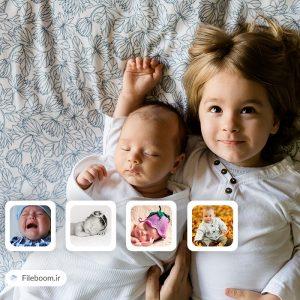 ۱۰ تصویر باکیفیت از کودکان در حالات مختلف