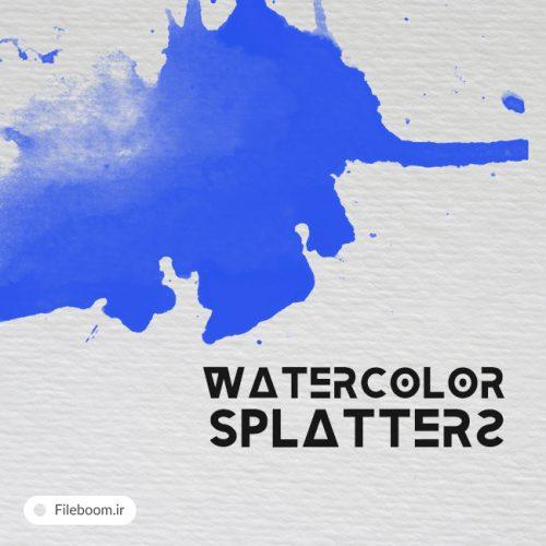 براش زیبا و کاربردی آبرنگ و پخش شدن رنگ
