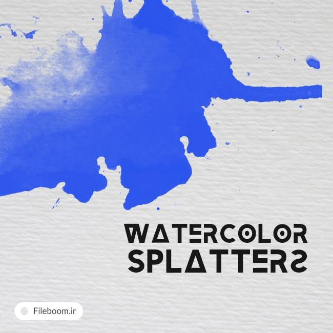 Watercolor Splatters brushes - Watercolor Splatters_brushes