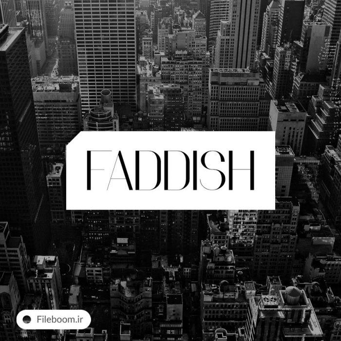 Faddish font 75635 700x700 - Faddish_font_75635
