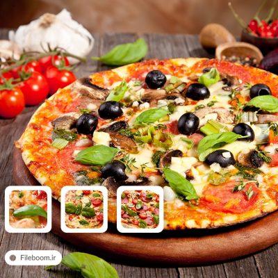 تصاویر با کیفیت پیتزا