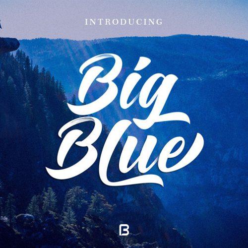 فونت لاتین big blue