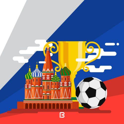 وکتور جام جهانی ۲۰۱۸ روسیه