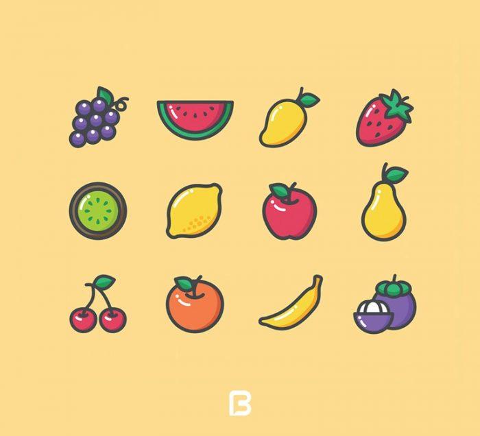 آیکون میوه 700x636 - Fruits_free_Icon_14275