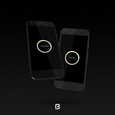 موک آپ گوشی هوشمند google pixel 2