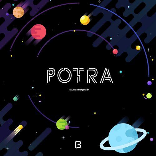 فونت انگلیسی زیبا به نام potra
