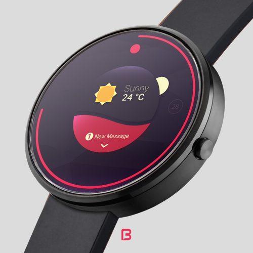 موکاپ ساعت هوشمند