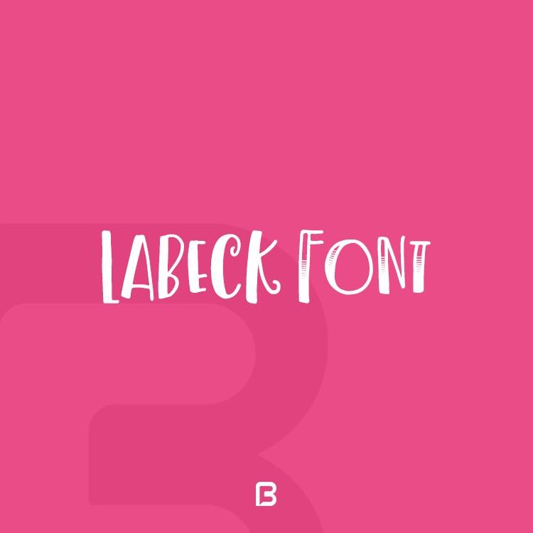 فونت فانتزی Labeck