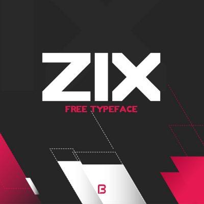 فونت انگلیسی zix