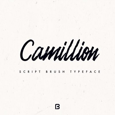 فونت انگلیسی قلمو Camillion
