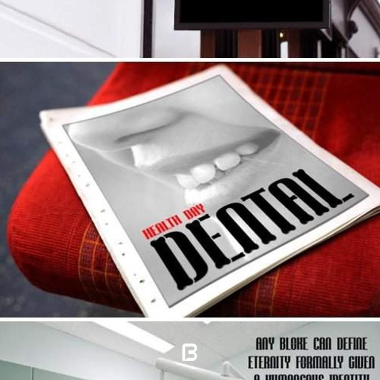 دانلود فونت انگلیسی دندان Tooth Font
