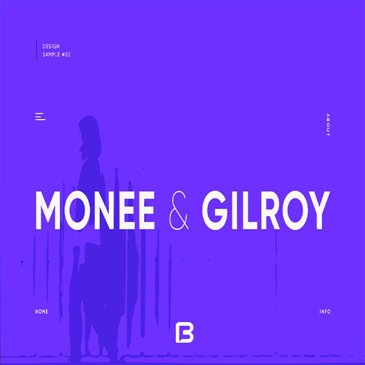 فونت انگلیسی Gilroy