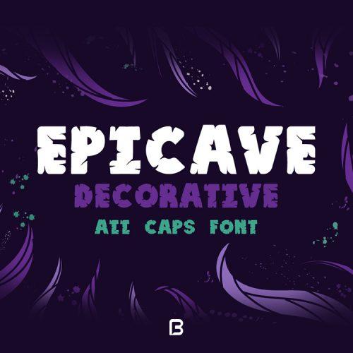 فونت فانتزی انگلیسی Epicave
