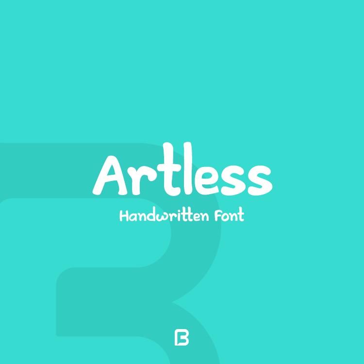 فونت انگلیسی دست نوشته Artless