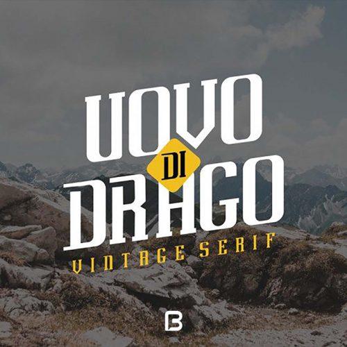 فونت انگلیسی Uovo Drago