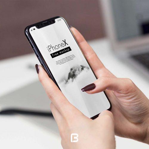 موکاپ گوشی آیفون ایکس iphone x