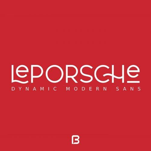 فونت انگلیسی Le Porschre