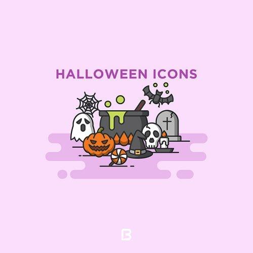 مجموعه آیکون جشن هالووین