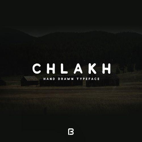 فونت انگلیسی دست نویس Chlakh