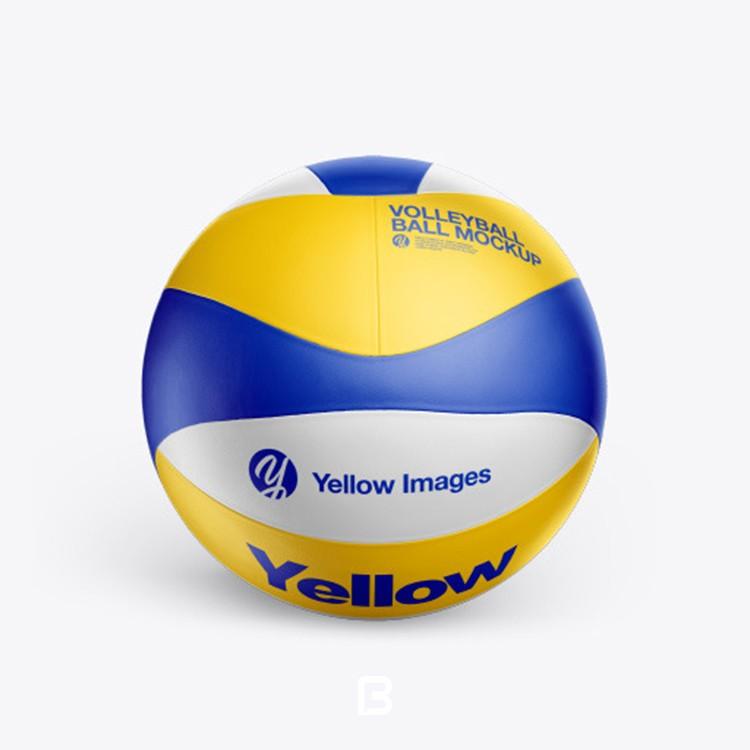 موکاپ توپ والیبال