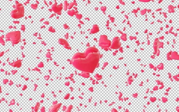 مجموعه ۱۰ فایل باکیفیت قلب بصورت معلق