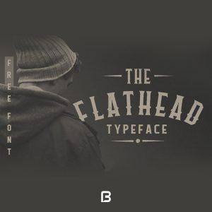 فونت انگلیسی خاص Flathead