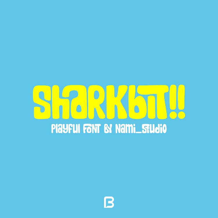فونت فانتزی انگلیسی Sharkbit