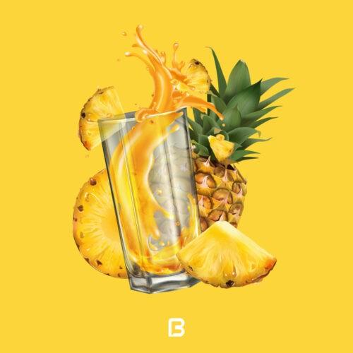 وکتور میوه آناناس