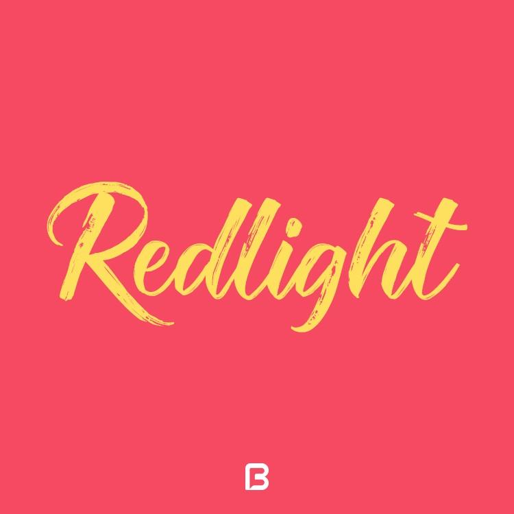 فونت شکسته انگلیسی Redlight