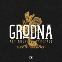 فونت خاص انگلیسی Grodna