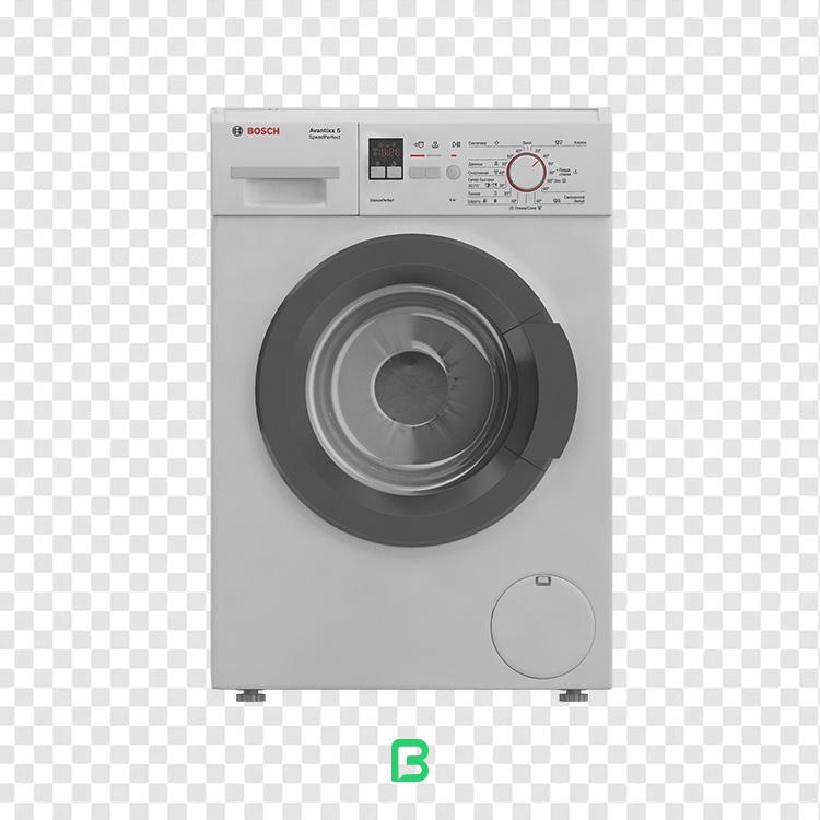 عکس بدون پس زمینه ماشین لباس شویی – کد ۱۰
