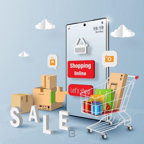 وکتور خرید اینترنتی از فروشگاه اینترنتی