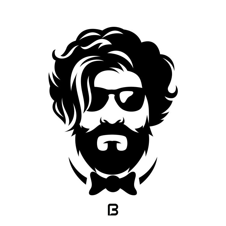 مجموعه ۲۰ وکتور مدل موی مردانه