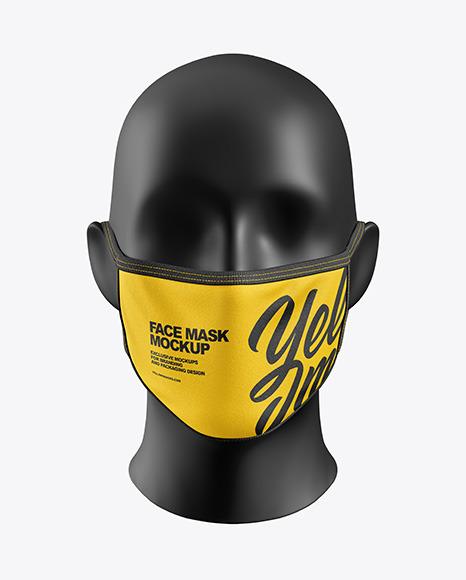 موکاپ لایه باز ماسک