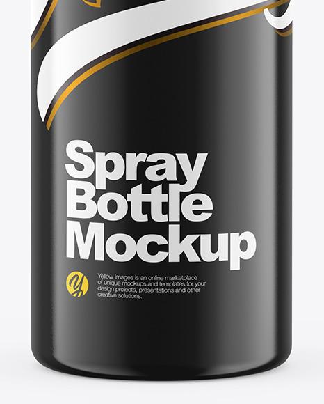موکاپ لایه باز بطری اسپری