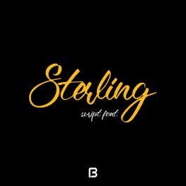 فونت انگلیسی شکسته Sterling