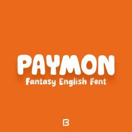 فونت انگلیسی فانتزی Paymon