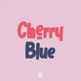 فونت فانتزی انگلیسی Cherry Blue