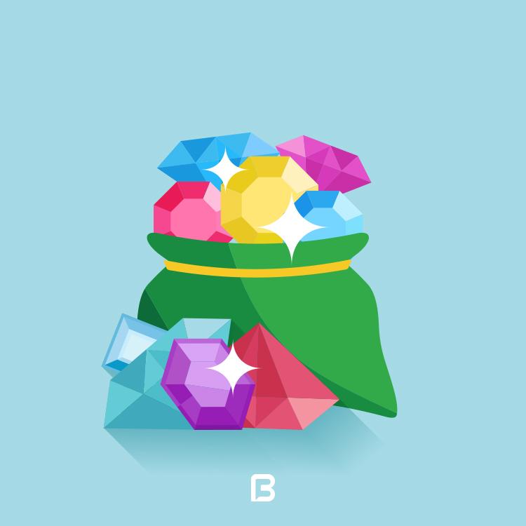 وکتور الماس و جواهرات