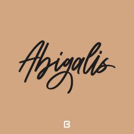 فونت انگلیسی سرهم Abigalis