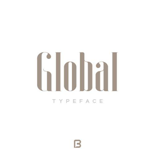 فونت خاص انگلیسی Global