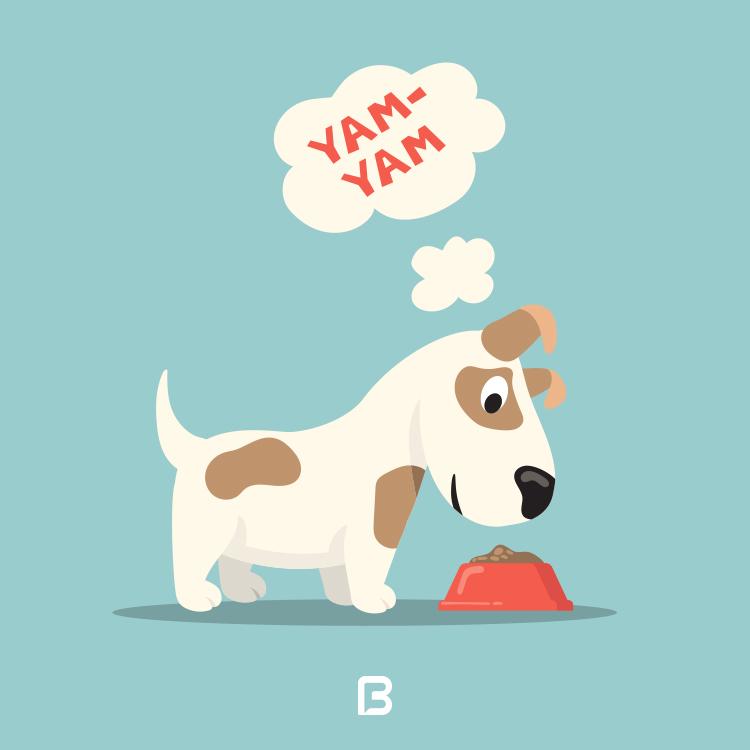 مجموعه ۸ وکتور سگ کارتونی